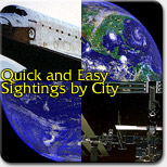 Quick and Easy Sightings by City